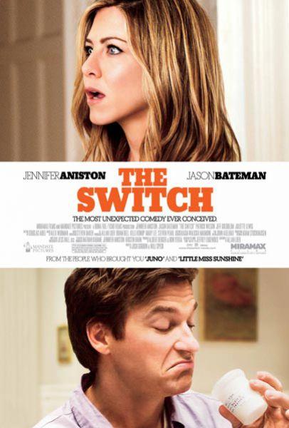 """Трейлер комедии с Дженнифер Энистон """"The Switch"""""""