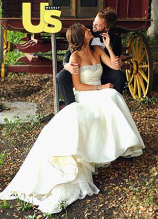 Первые свадебные фотографии Никки Рид