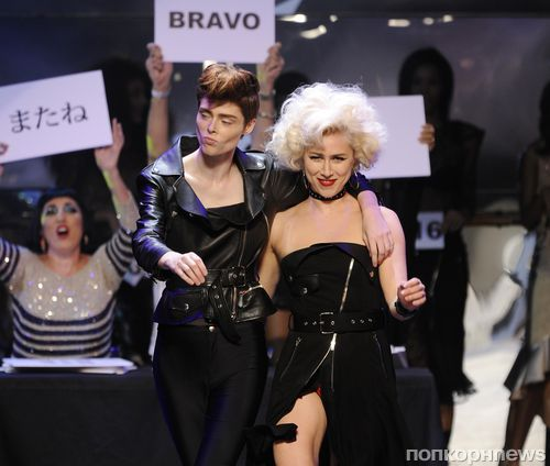 Модный показ новой коллекции Jean Paul Gaultier. Весна / лето 2014