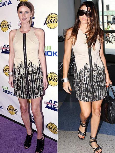 Fashion battle: Ники Хилтон и Ферги