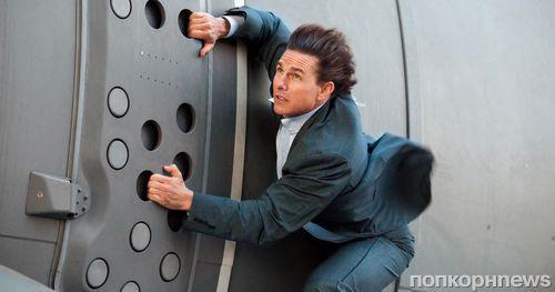 На съемках «Миссия невыполнима 6» Том Круз совершил прыжок с высоты в 7,5 км
