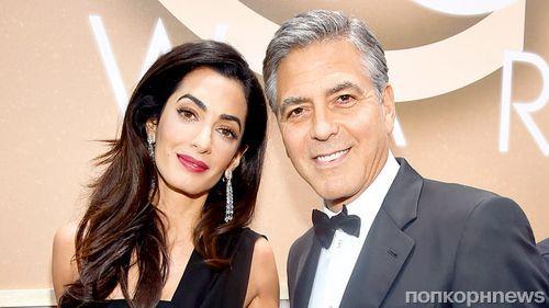 Джордж Клуни сообщил дату рождения будущих детей