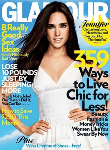 Дженнифер Коннели в журнале Glamour. Март 2009