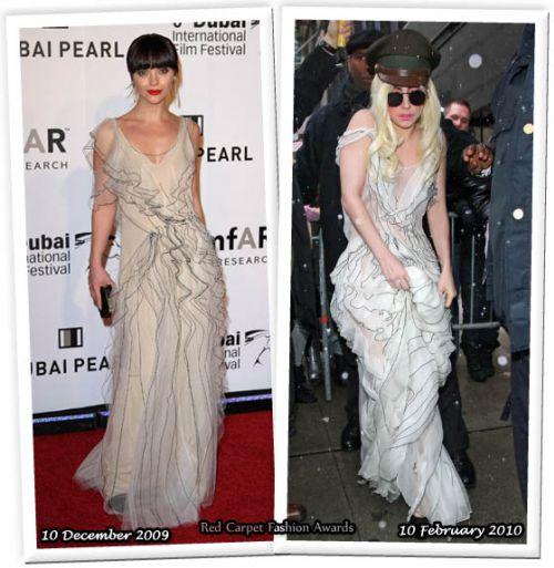 Fashion battle: Кристина Риччи и Lady GaGa