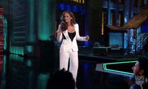Дженнифер Лопес на шоу Lopez Tonight