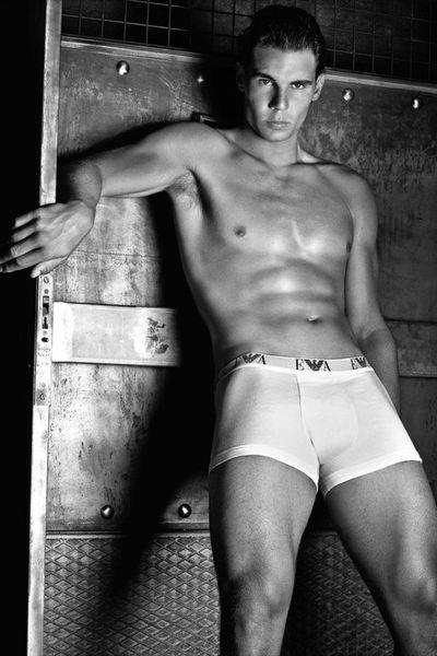 Рафаэль Надаль для Emporio Armani Underwear