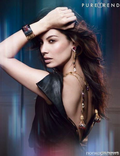 Беренис Марло в рекламной кампании Swarovski. Осень / зима 2012-2013