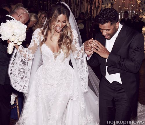 Сиара и Рассел Уилсон не занимались сексом до свадьбы