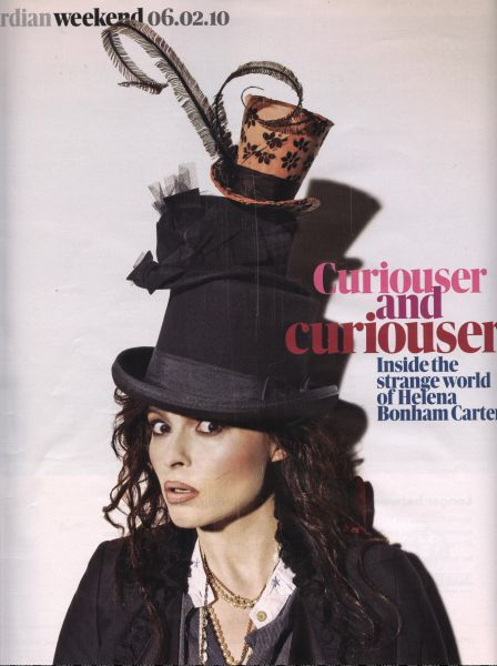 Хелена Бонэм Картер в журнале Guardian. Февраль 2010