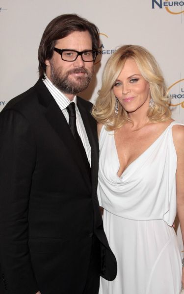 Джим Кэрри и Дженни МакКарти на Visionary Ball 2009