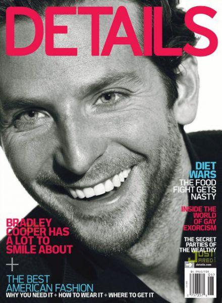 Брэдли Купер для Details. Июнь/Июль 2010