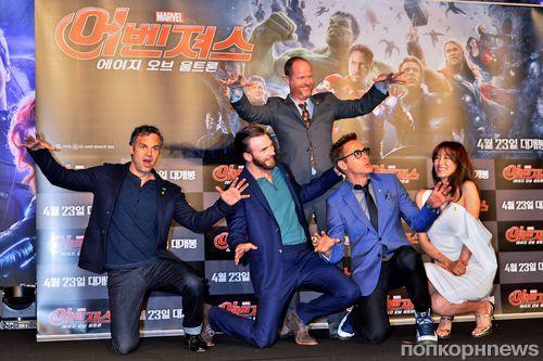 Премьера фильма «Мстители: Эра Альтрона» в Сеуле и Пекине