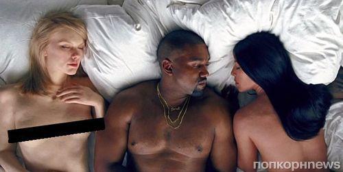 Канье Уэст потратил почти миллион долларов на манекены голых звезд для клипа Famous