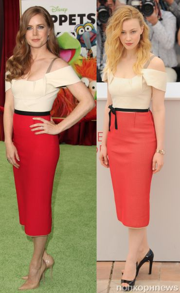 Fashion battle: Эми Адамс и  Сара Гэйдон