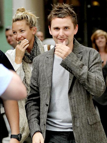 Кейт Хадсон и Мэттью Беллами в Лондоне