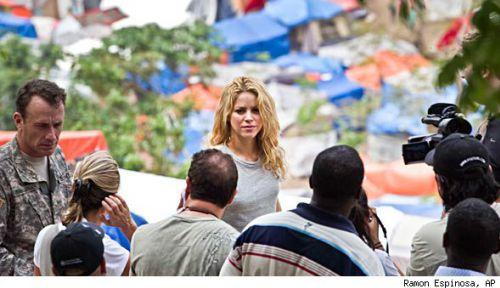 Шакира начинает строительство школы на Гаити
