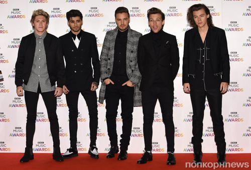 Звезды на церемонии BBC Music Awards 2014
