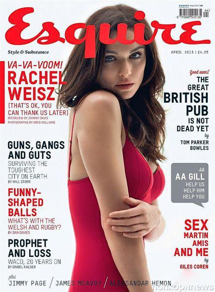 Рейчел Вайс в журнале  Esquire Великобритания. Апрель 2013