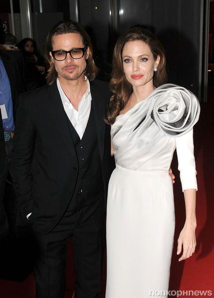 Дети Анджелины Джоли и Брэда Питта вызвали полицию в свой дом