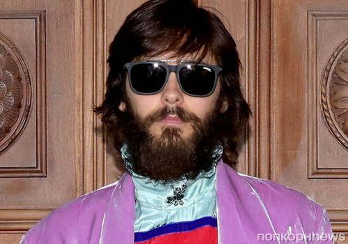 Фото: неузнаваемый Джаред Лето приехал на показ Gucci