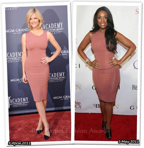 Fashion Battle: Бруклин Деккер и Дженнифер Хадсон