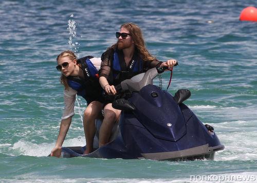 Хлоя Морец отдыхает в Майами