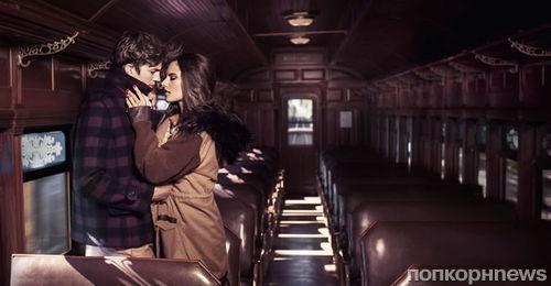 Алессандра Амбросио и Эштон Кутчер в новой рекламной кампании Colcci. Осень / зима 2012-2013