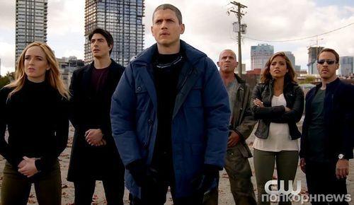 «Легенды завтрашнего дня»: трейлер «супергеройского» спин-оффа «Стрелы» и «Флэша»