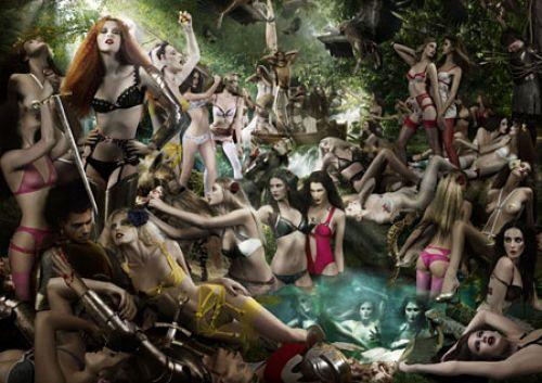 Рекламная кампания Agent Provocateur Весна / Лето 2009
