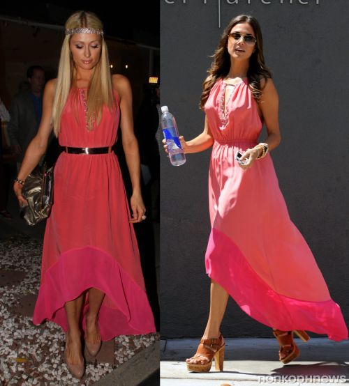 Fashion battle: Пэрис Хилтон и Яна Крамер