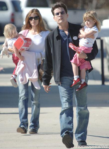 Чарли Шин обещает наказать обидчиков дочери