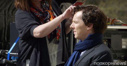 "Создатели ""Шерлока"" показали ""закулисное"" видео со съемок 4 сезона"
