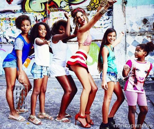 Алессандра Амбросио в журнале Vogue Бразилия. Сентябрь 2014