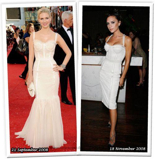 Fashion battle: Дженьюари Джонс и Виктория Бэкхем