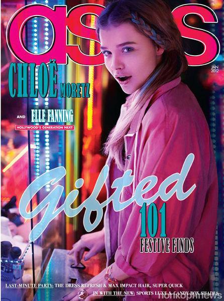 Хлоя Морец в журнале ASOS. Декабрь 2011