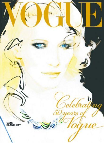 Кейт Бланшетт в журнале Vogue Австралия. Сентябрь 2009