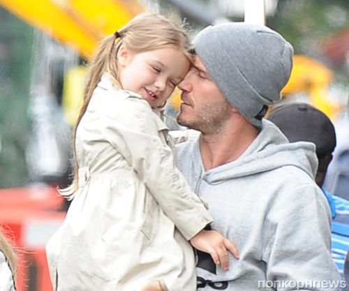 Дэвид Бекхэм не желает, чтобы его дочь делала короткую стрижку