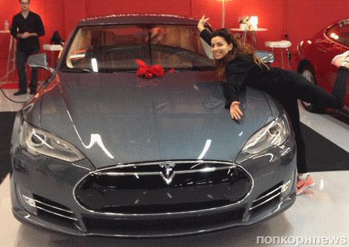 Новый автомобиль Евы Лонгории