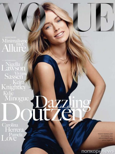Даутцен Крез в журнале Vogue Нидерланды. Декабрь 2012