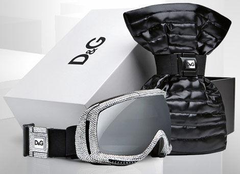 Интересные штучки: лыжная маска от D&G