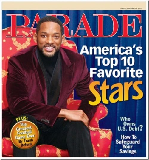 Топ 10 звезд любимцев Америки. По версии журнала Parade