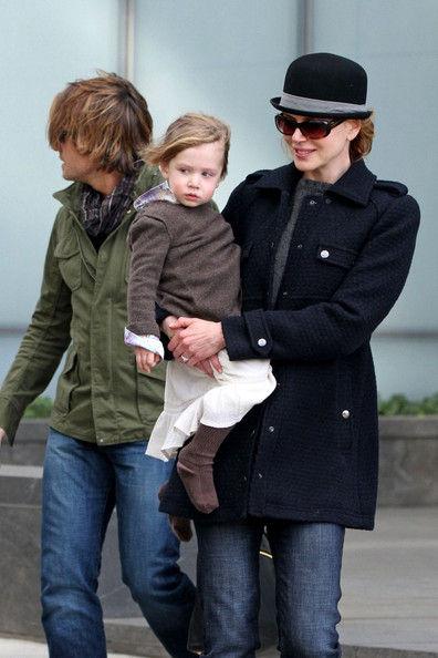 Счастливое семейство Николь Кидман