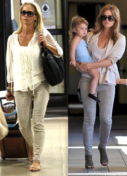 Fashion battle: Дженни Гарт и Айла Фишер