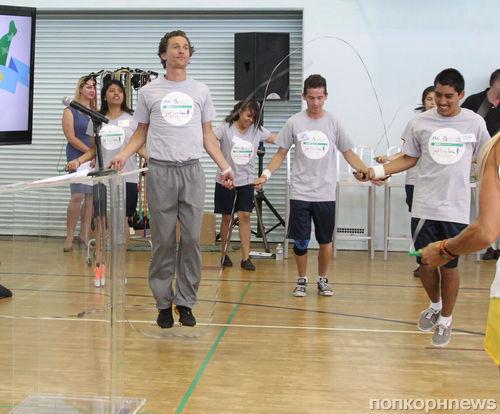 Мэттью МакКонахи стал учителем физкультуры
