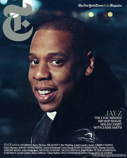Jay-Z  � ������� New York Times T Men's Fashion. ����� 2012