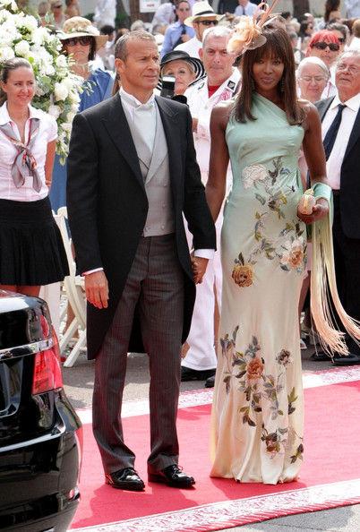 Наоми Кэмпбелл на свадьбе принца Альберта