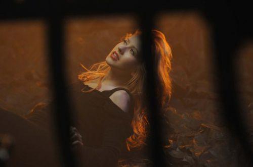 Кадры со съемок клипа Кристины Агилеры «You Lost Me»