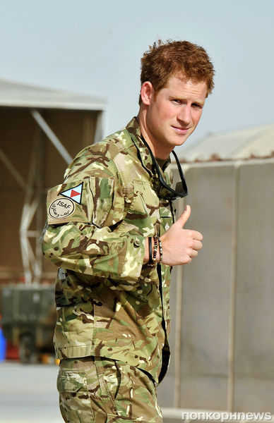 Принц Гарри вернулся в Афганистан