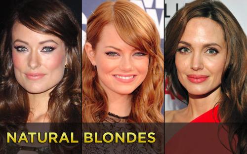 Голливудские натуральные блондинки