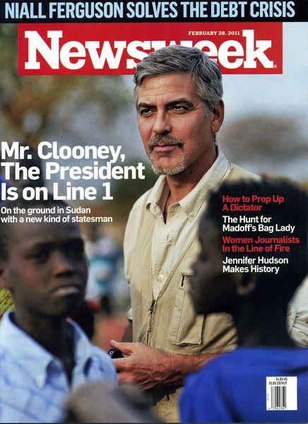 Джордж Клуни слишком плохой для политики
